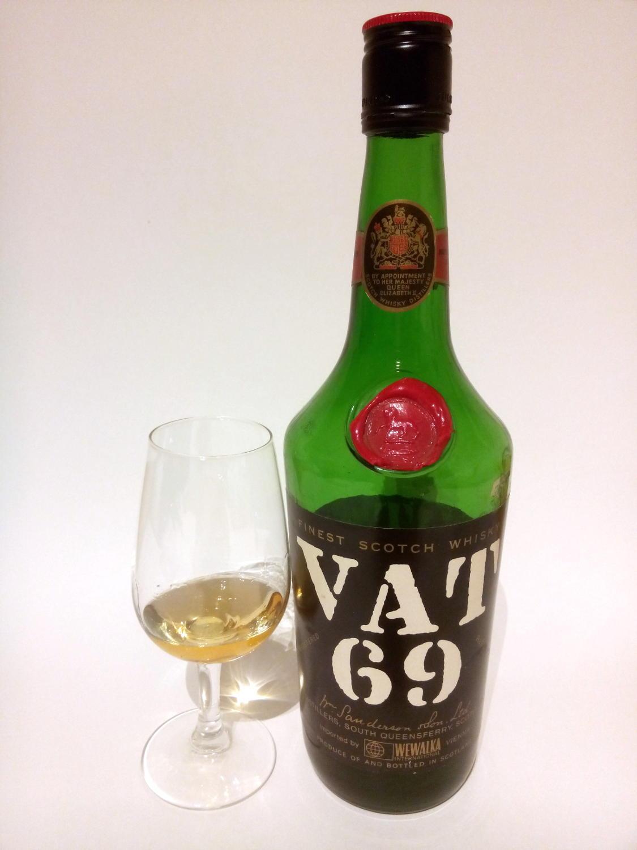 Tasting Vat 69 Vintage Austrian Import Bottle Maltklaus