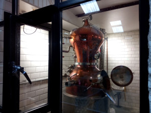 Tiny still at the London Distillery Company
