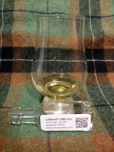 Littlemill 1989 Cask 42 by Archives