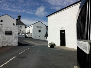 Entrance to the Bowmore Distillery