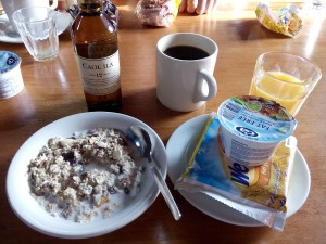 Breakfast with Caol Ila