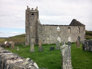 The old Kilchoman Parish Church