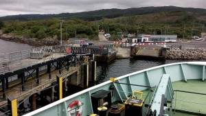 Leaving Kennacraig on the Hebridean Isles