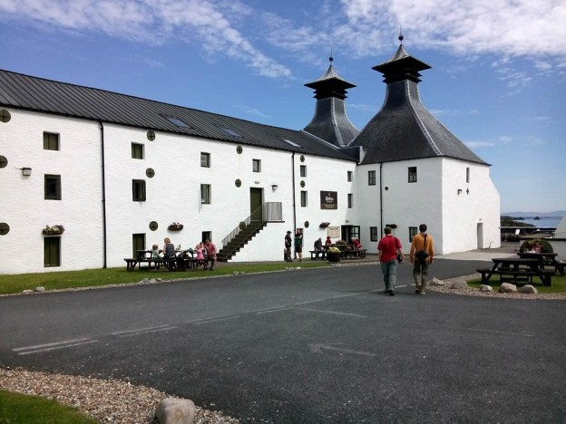 Ardbeg Distillery Courtyard