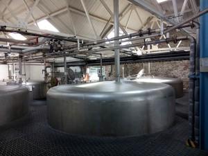 Steel washbacks at Laphroaig