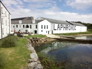 Sunny day at Laphroaig