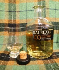 Balblair 2003 - 2013 1st release