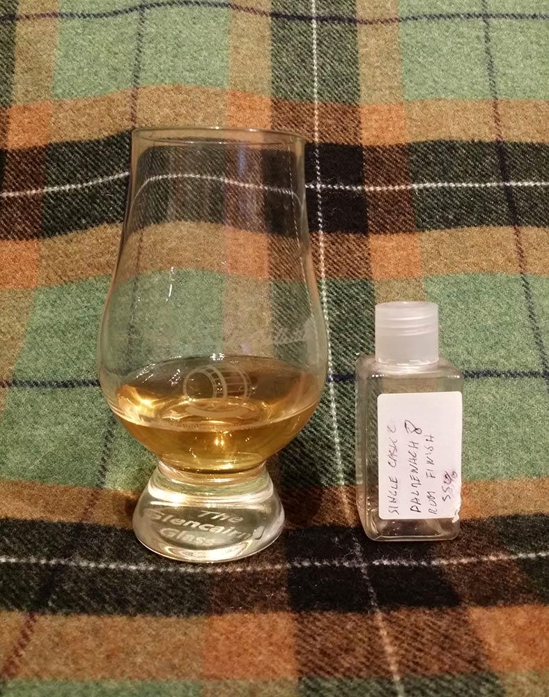 Balmenach 8 yo Rum Single Cask Collection
