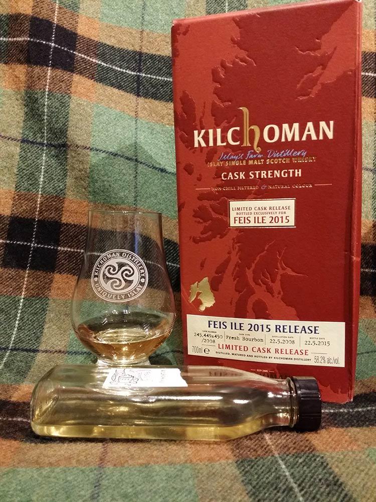 Kilchoman Feis Ile 2015 bottling
