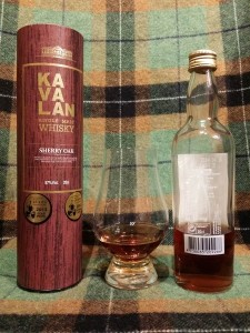 Kavalan Solist Sherry NAS 20cl bottle