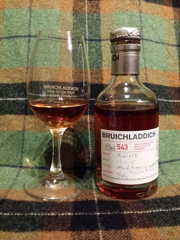 Bruichladdich 15/297/543 Cask Evolution Exploration - Port wood 12 yo
