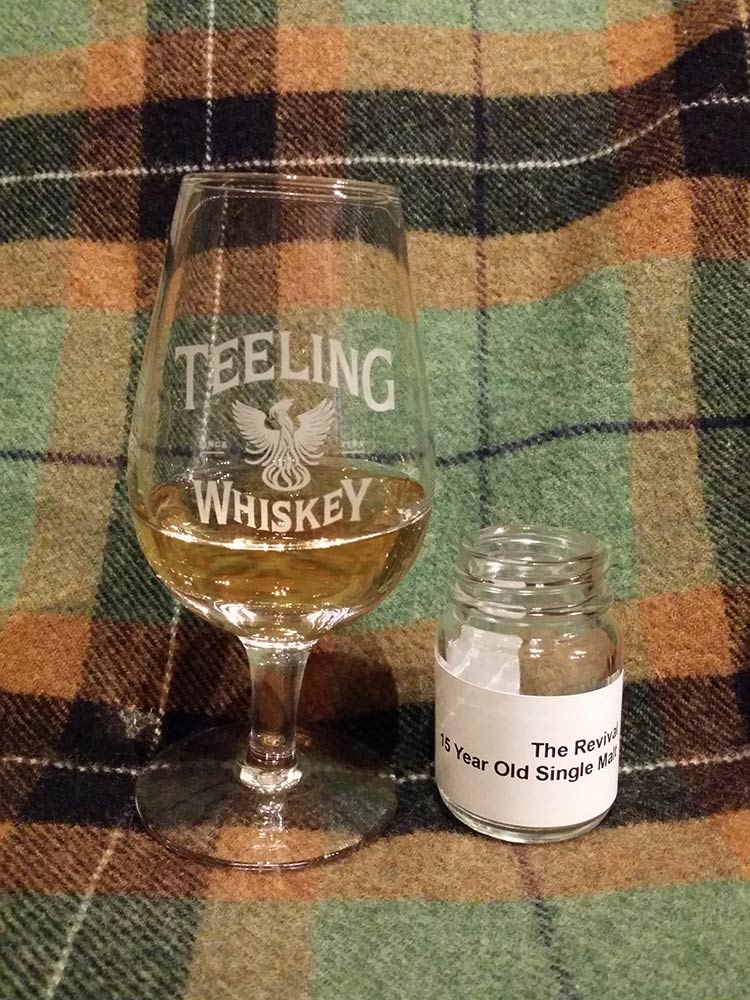 Teeling The Revival 15 yo Rum Cask Irish Whiskey