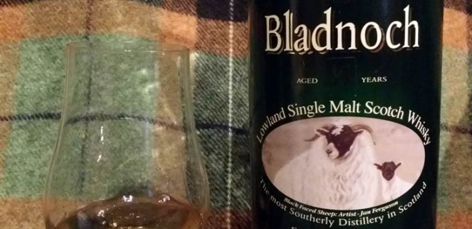 Bladnoch 2001 11 yo lightly peated Sherry cask 280