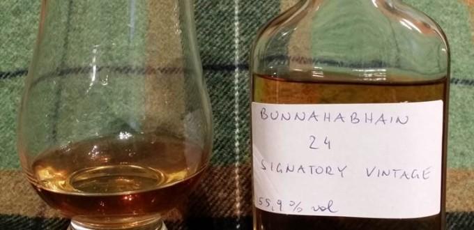 Bunnahabhain 1988 24 yo by Signatory Vintage