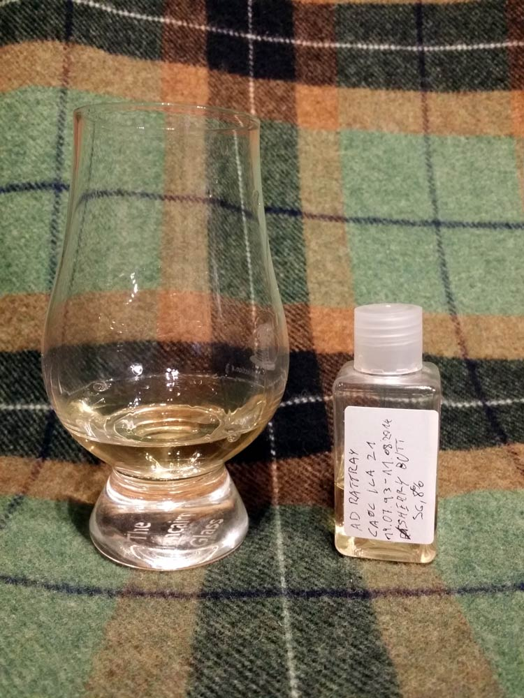 Caol Ila 1993 21 yo by A.D. Rattray