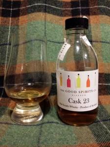 The Good Spirits Co. Cask 23 blend batch 9