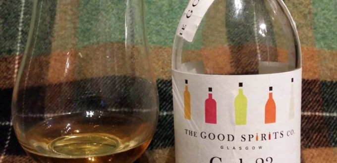 The Good Spirits Co. Cask 23 blend batch 9