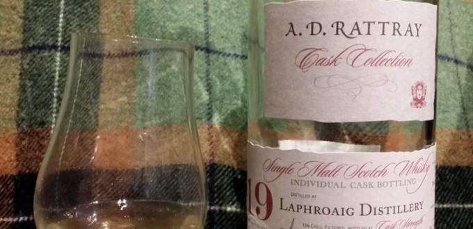 Laphroaig 1990 19 yo by A.D. Rattray