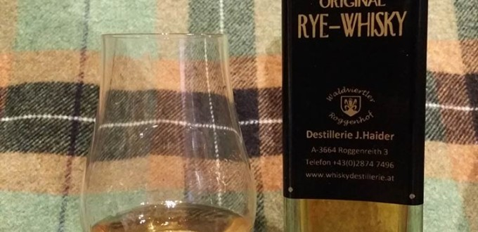 Waldviertler Whisky J.H. Original Rye