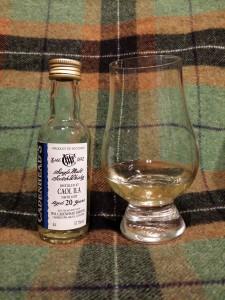 Caol Ila 1995 20 yo by Cadenhead's