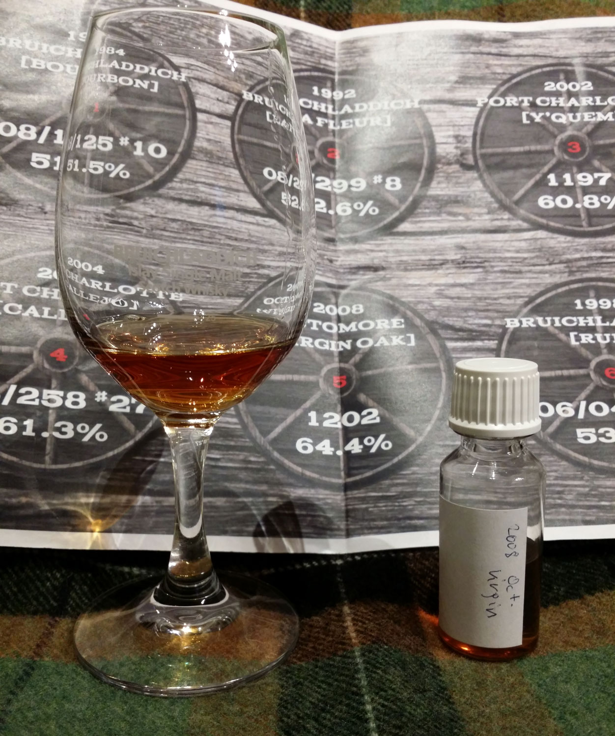 Octomore 2008 Virgin Oak cask sample