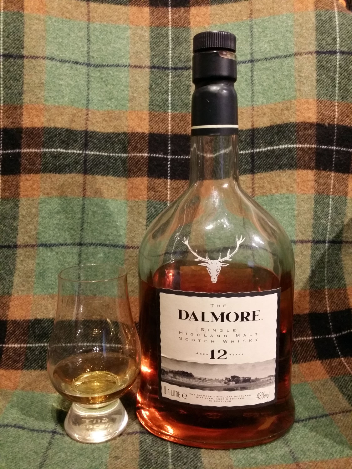 Tasting: Dalmore 12 yo (late 80s/early 90s duty free bottling)