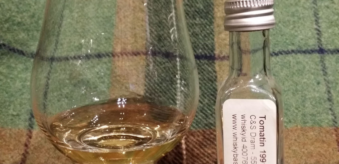 Tomatin 1991 21 years by C&S
