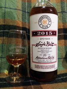 Glen Spey 1995 20 yo by Cadenhead's - 2015 Club bottling