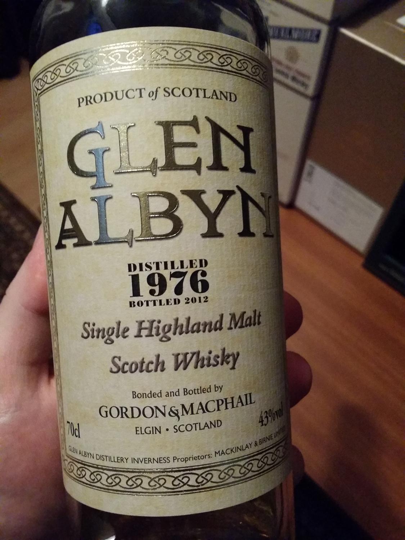 Glen Albyn 1976 - 2012 by Gordon & Macphail's