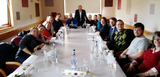 Auchroisk #whiskyfabric group picture