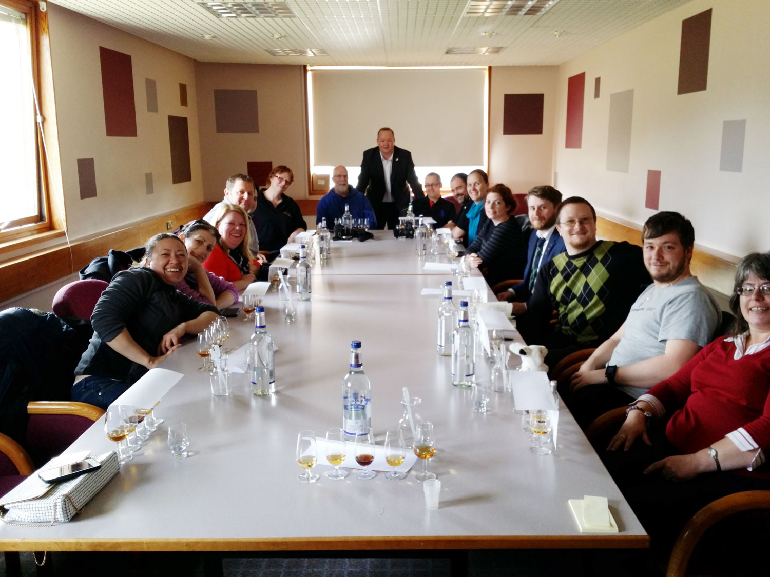 Auchroisk #whiskyfabric group picture