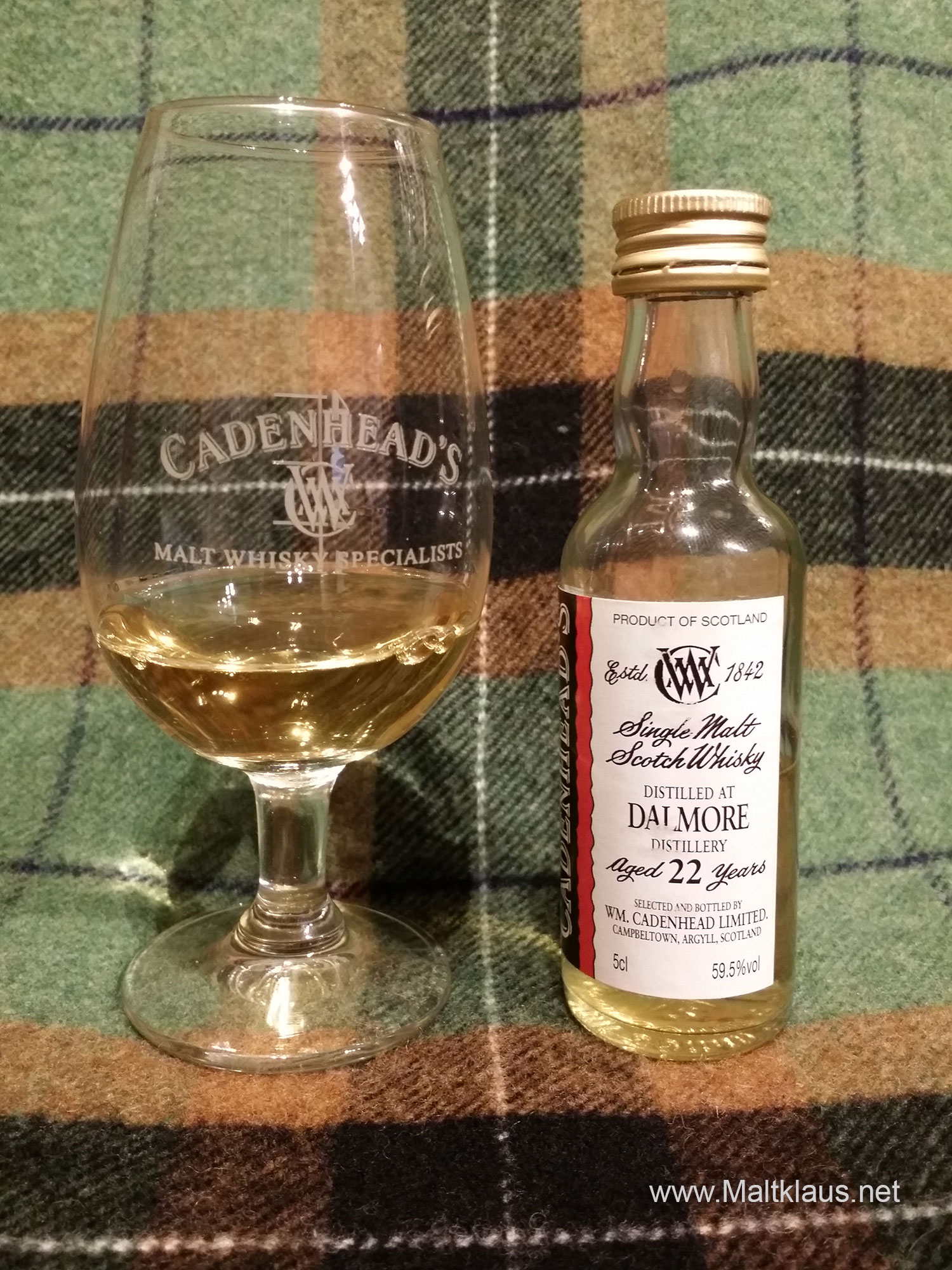 Dalmore 1992 22 years by Cadenhead's