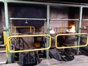 Re-Charring casks