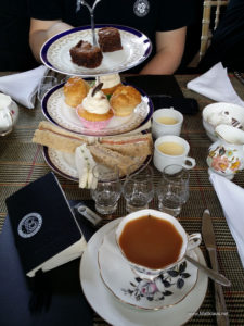 High tea at Tamdhu