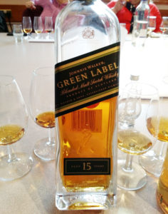 Johnnie Walker Green Label 15 years (2016 re-release)