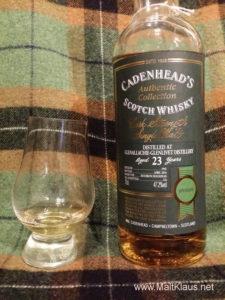 Glenallachie 1992 23 yo by Cadenhead's