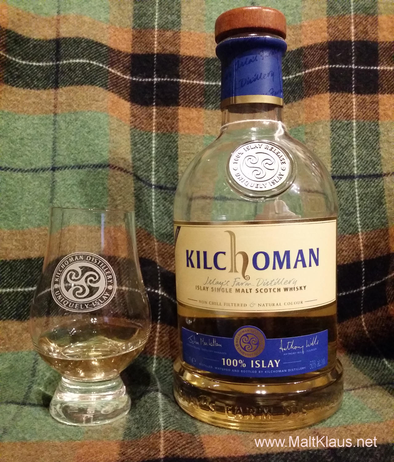 Kilchoman 100% Islay 5th edition / 2015