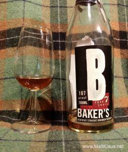 Baker's 7 yo 107 proof
