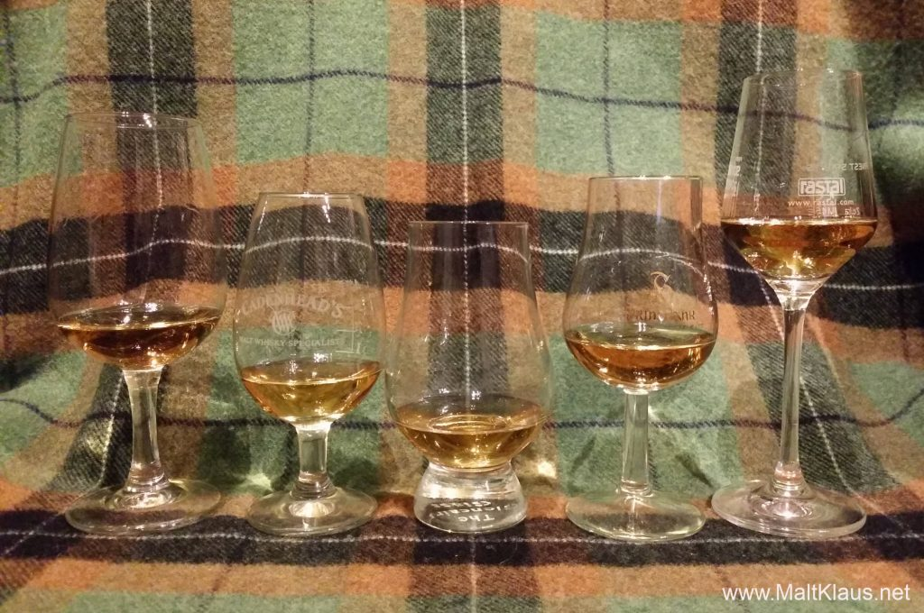 Whisky Glassware Comparison