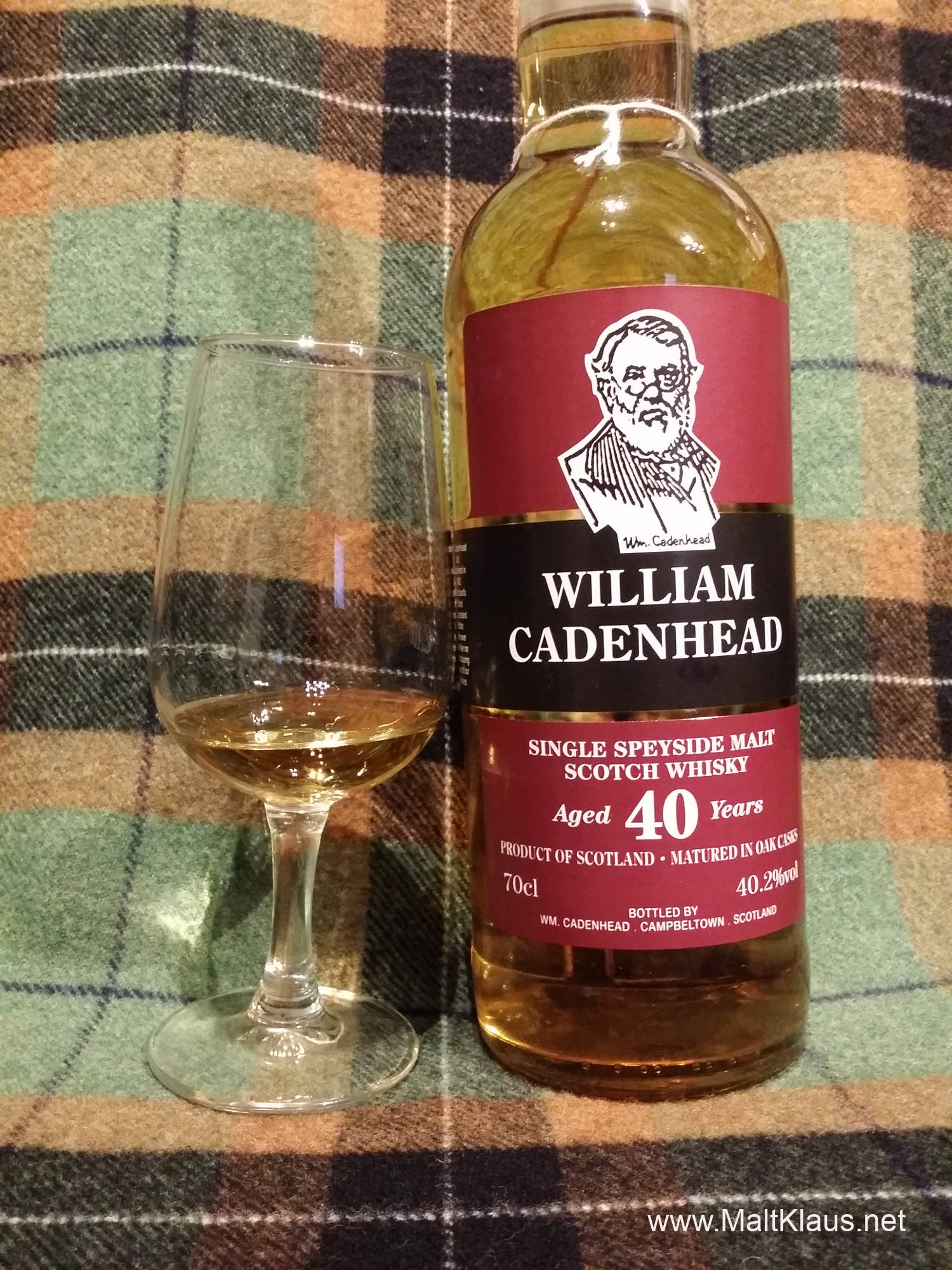 William Cadenhead 40yo Single Speyside Malt