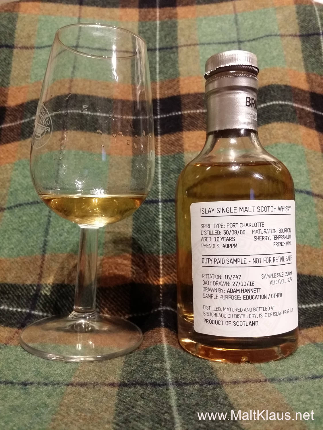 Bruichladdich Port Charlotte 10yo 2nd edition