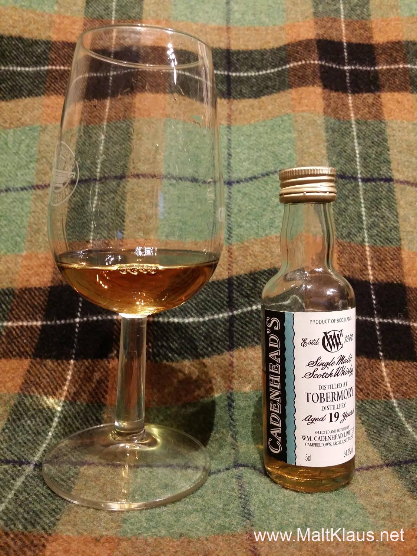 Tobermory 19 yo by Cadenhead's