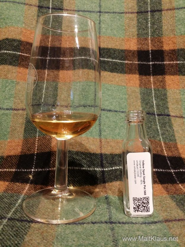 Yellow Spot 12 yo Single Potstill Irish Whiskey