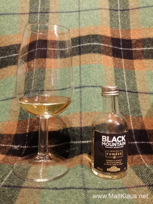 Black Mountain Whisky Selection Notes Fumées Blend