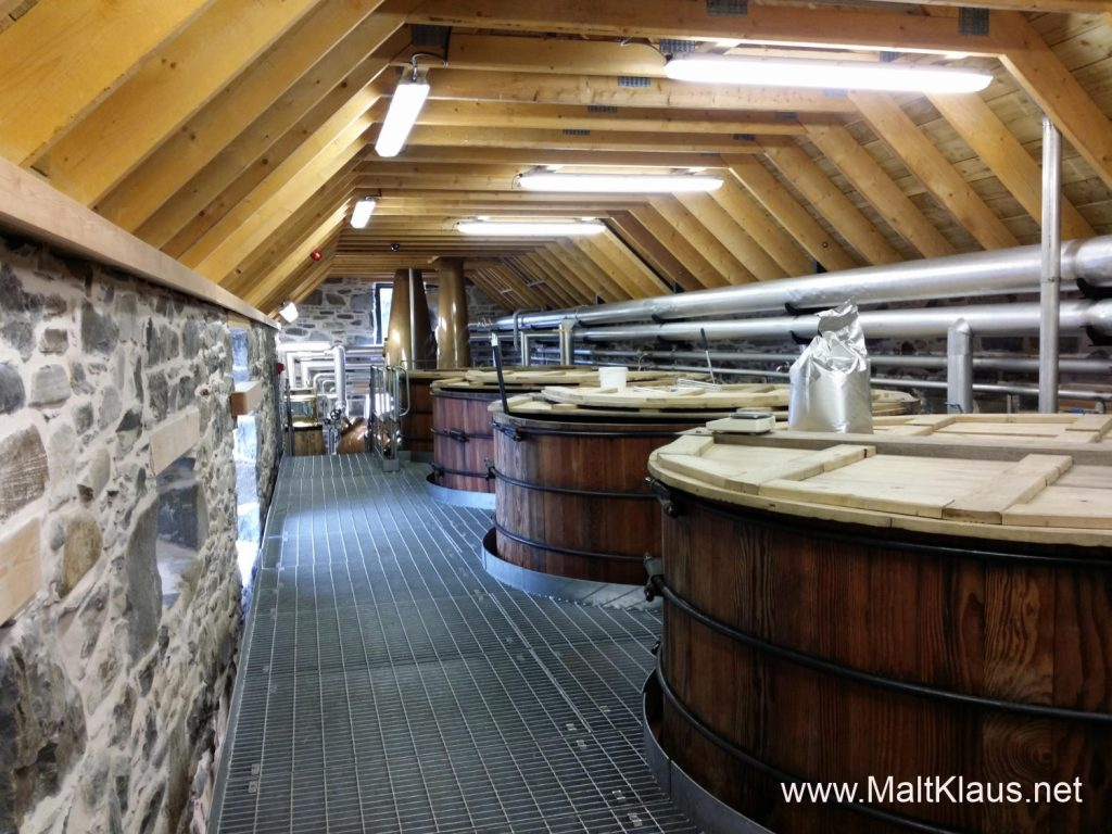 The main production building of Ballindalloch distillery