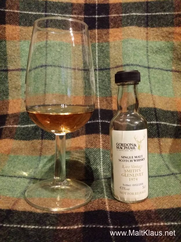 Glenlivet 1974 33 years GM