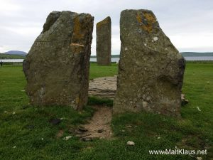 Standing stones of Stenness - beware of the sheep droppings!