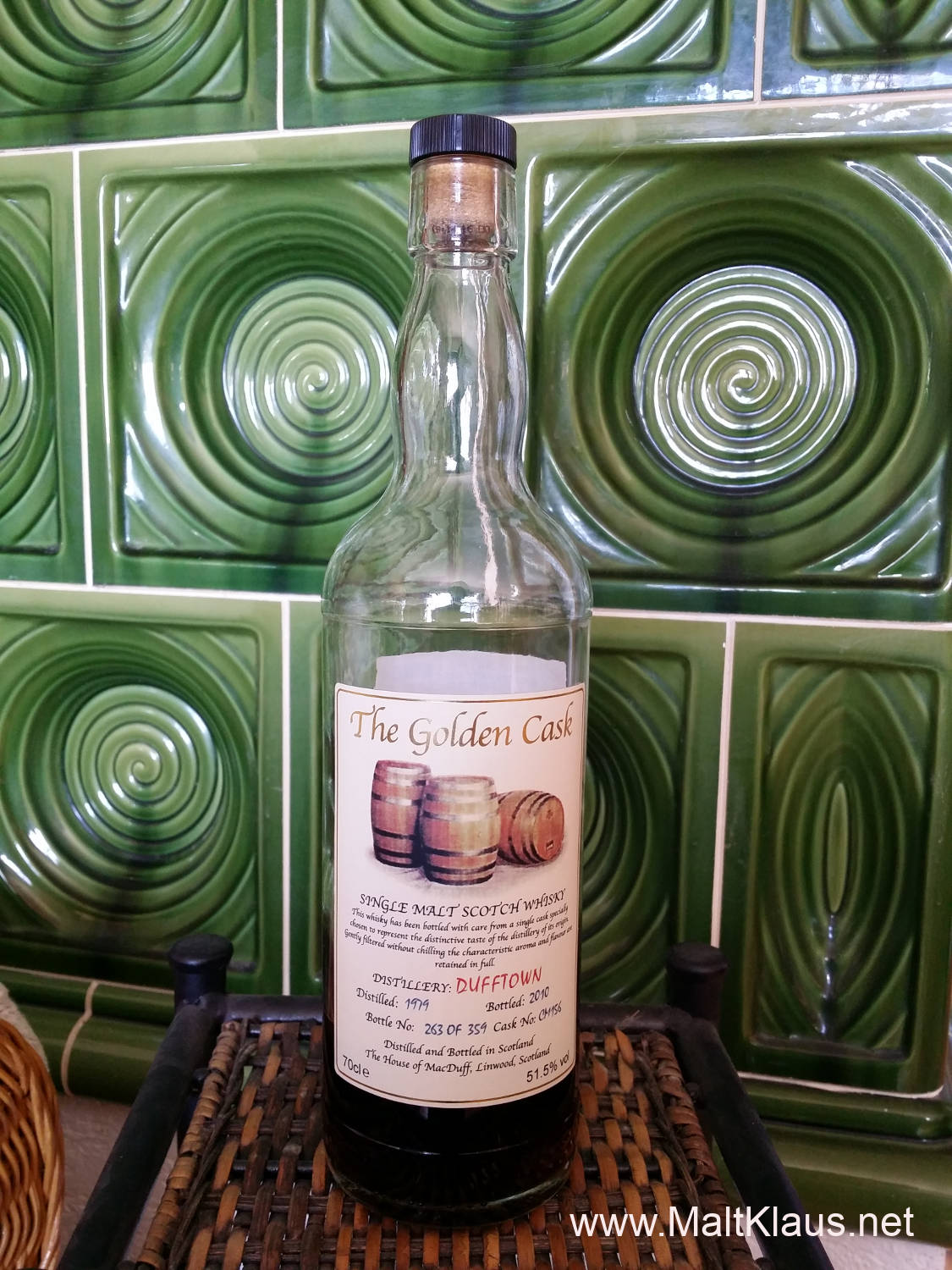 "Dufftown 1979-2010 ""The Golden Cask"""