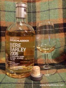 Bruichladdich Bere Barley 2006