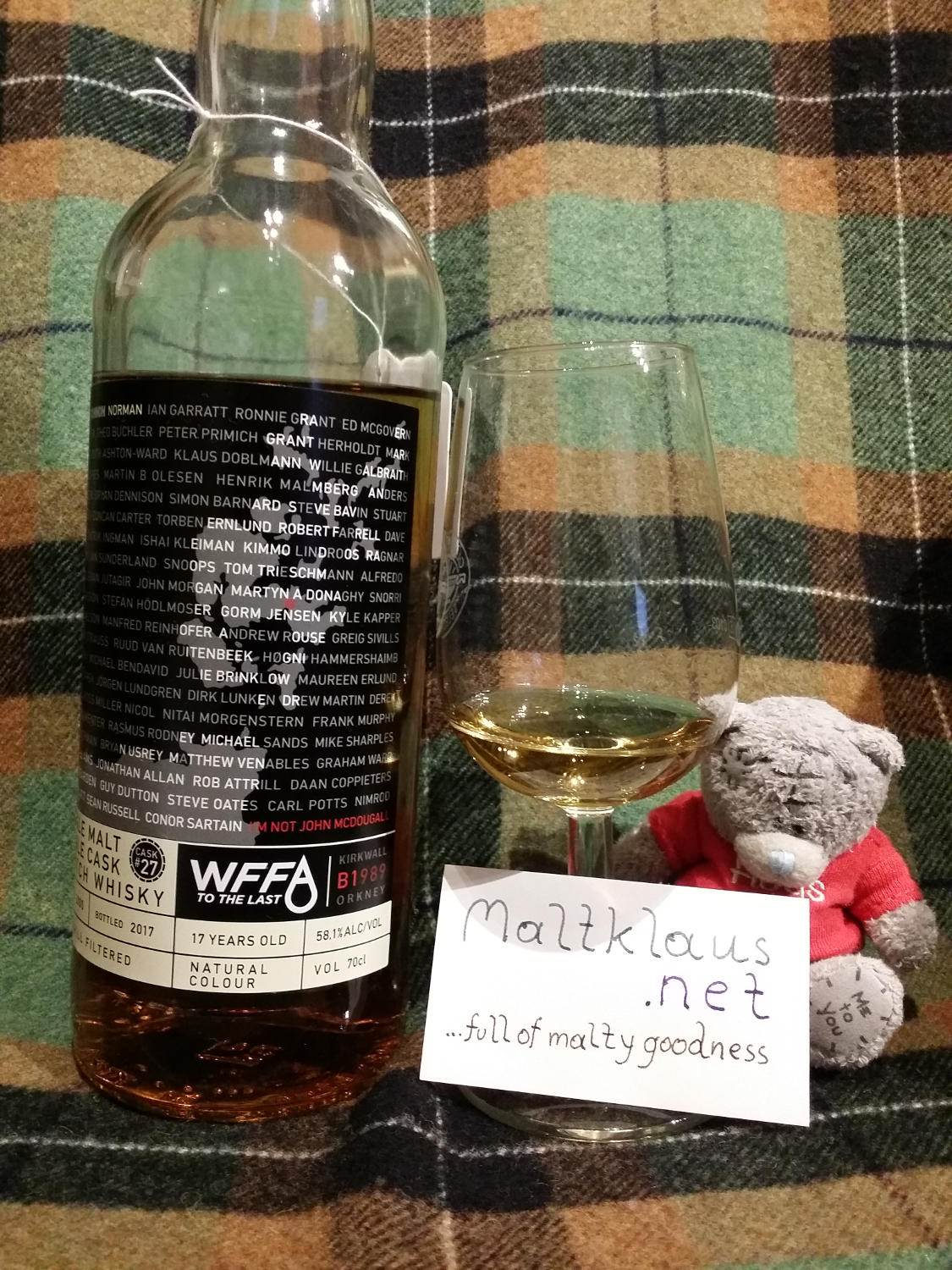 "WFFA 2000 17 yo ""Orkney"" Single Malt"